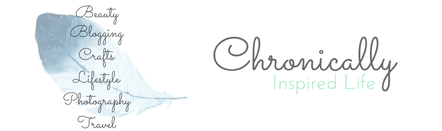 Chronically Inspired Life: just a chronically ill gal blogging about her passions, including beauty, lifestyle, travel, crafts and photography.